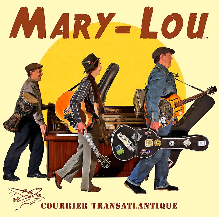 Mary-Lou album Courrier Transatlantique