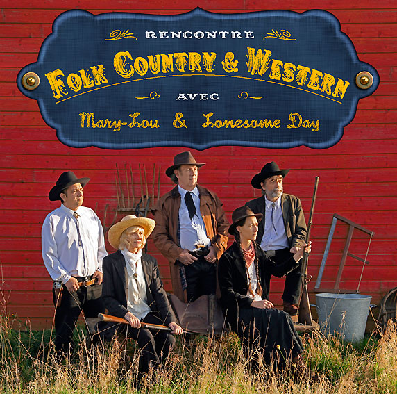 album des Rencontres Folk, Country & Western (Mary-Lou et Lonesome Day)